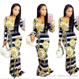 $enCountryForm.capitalKeyWord Australia - Nice Summer Dashiki Maxi Dress Traditional African Print Long Dress Dashiki Elastic Elegant Bodycon Vintage Dresses 8525w