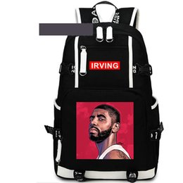 School Picture UK - Picture backpack Irving day pack Color print design school bag Basketball packsack Laptop rucksack Sport schoolbag Out door daypack
