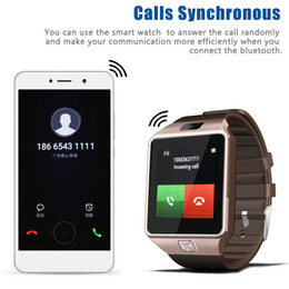 $enCountryForm.capitalKeyWord Australia - DZ09 Bluetooth Smart Watch Wirstband Android Intelligent Smartwatch SIM card for iphone 5 6 Samsung S8 with retail package