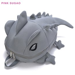 oxford style man bag Australia - Pink sugao designer backpack BHP cartoon cute backpacks men and women shoulder bag candy-colored dinosaur backpack new fashion monster bag