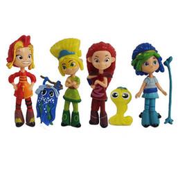 Matryoshka Toys Australia - Fairy Patrol Russian girls Toys 9cm PVC Princess Matryoshka Nendoroid Anime Figure Vinyl Doll