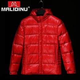 jacket tiger Australia - MALIDINU 2019 High Quality Men Down Jacket 70% White Duck Down Winter Thicken Coat Parka Tiger European Size Free Shipping