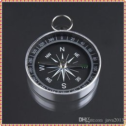 NavigatioN tools online shopping - mm Diameter Mini Aluminum Camping Compass Hiking Hiker Navigation New