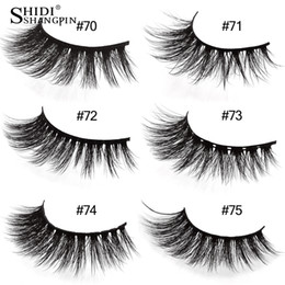 $enCountryForm.capitalKeyWord Australia - 1 pairs false eyelashes 3d mink lashes natural long fake eye lashes private label eyelash for makeup extension lash
