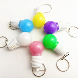$enCountryForm.capitalKeyWord Australia - Manufacturer's Hot Selling LED Flash Key Keys, LED Light bulb pendant, Creative and Practical Activity Gift