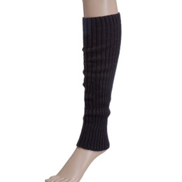 $enCountryForm.capitalKeyWord UK - Lovely Candy Color Knit Winter Leg Warmers Knee High Boot Socks for women