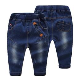 Cowboys Clothes Australia - Spring Autumn Boy Pants Kids Clothes Girls Jeans Casual Cowboys Boys Denim Children Clothing Girl Pants Bottom Baby Trousers