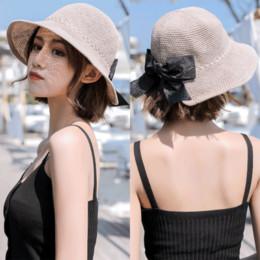 48c69e43e0290 Korean Uv Hat Australia - Korean sun hat female summer new Korean sunscreen beach  hat travel