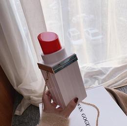 $enCountryForm.capitalKeyWord Australia - Factory wholesale brand women handbag sweet girl lipstick chain box bag street trend contrast color women Messenger bag lipstick styling Cha