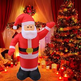 $enCountryForm.capitalKeyWord Australia - Outdoors Inflatable Santa Claus Christmas Decorations for Home Yard Garden Decoration Merry Christmas Welcome Arches EU Plug