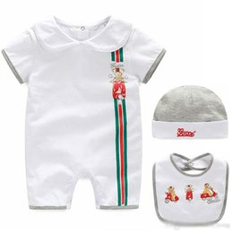 $enCountryForm.capitalKeyWord Australia - Baby Boys Girls Rompers Newborn Infant Cartoon sports suits Summer Kids short Sleeve jumpsuit climbing clothes for children 0-2T
