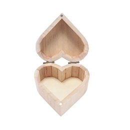 $enCountryForm.capitalKeyWord UK - 1pc Creative Cute Love Heart Shape Wooden Craft Gift Box Multifunctional Mud Base DIY Art Decor Jewelry Box organizador de joyas