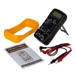 $enCountryForm.capitalKeyWord Australia - Portable Digital Multimeter Backlight AC DC Ammeter Voltmeter Ohm Tester Meter XL830L Handheld LCD Multimetro Voltage Current