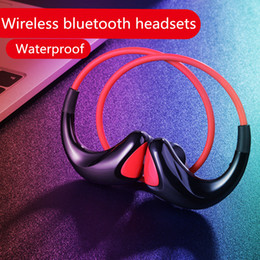 neck phone bluetooth 2019 - Tz-16 wireless bluetooth headphones hang neck in-ear sports headsets stereo bass earphones for iphone i7 8 9 plus IOS An