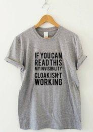 $enCountryForm.capitalKeyWord Australia - Invisible Cloak - funny humorous T-shirt mens womens sarcasm ladies slogan top Fashion Style T Shirts 100% Cotton Classic cheap wholesale