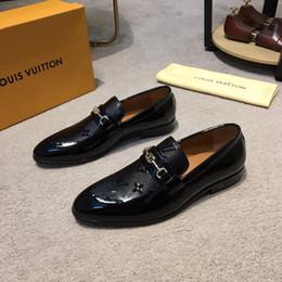 Groihandel HOT! 8 Modell Luxus Männer Schuhe Berühmte Marken Schuhe Europäischen Schuh Freizeitschuhe Aus Echtem Leder Tragen Gut Schwarz Grau Braun