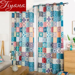 $enCountryForm.capitalKeyWord UK - Nordic Style Colorful Curtain for Kids Room Morocco Design Curtain for Living Room Blackout Drapes Window Treatment X514#30