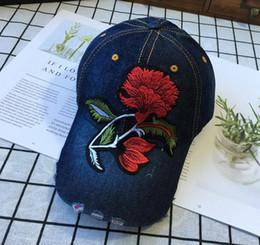$enCountryForm.capitalKeyWord Australia - Female Dad Hats Women Cowboy Hat Flexfit Caps Denim Hat Embroidery Cool Snapback Hats Adjustable Snapback Fashion Hats for Ladies