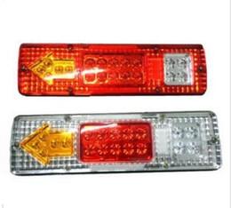 12v Tail Lights Australia - Free shipping 2PCS 12V High Quality 23 LED Trailer Tail Braking Turning Reversing Lights For Caravan Trailer truck Tail Lights Warning light