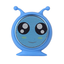cute phone speaker UK - Mini Portable cute animal wireless bluetooth speaker vioce call magnetic suction with retail packaging and free shipping