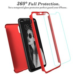 $enCountryForm.capitalKeyWord NZ - Full Cover 360 Degree Matte PC Phone Case for Iphone XS XR XS Max with Screen Protector Full Cover Cases