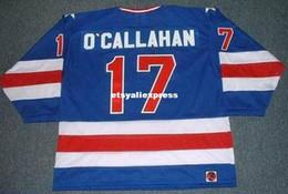$enCountryForm.capitalKeyWord Australia - custom Mens JACK O'CALLAHAN 1980 USA K1 Olympic Away Retro Hockey Jersey