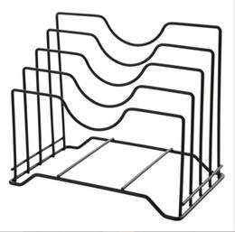 $enCountryForm.capitalKeyWord NZ - Creative Stainless Steel Kitchen Shelf Rack Cutting Board Book Organizer Storage Pot Silver Drainer Stand Rack Shelves