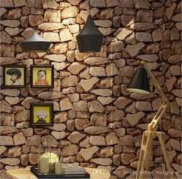 $enCountryForm.capitalKeyWord Australia - Modern Stacked brick 3d stone wallpaper roll grey brick wallpaper wall background wallpaper for living room pvc vinyl wall paper