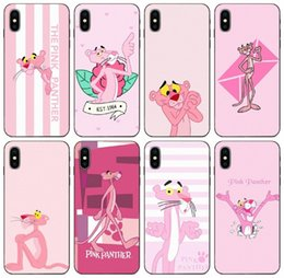 panther apple Canada - [TongTrade] Pink Panther Novelty Fundas Case For iPhone 11 Pro Max X XS 8 7 6s 6p 5s 5p Galaxy S6 S7 S8 S9 S10 Plus Huawei P9 Silicone Case