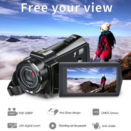 Mega Electronic Australia - Ordro HDV-V7 plus 24 mega pixels 16X digital zoom anti-shake HD 1080P professional digital video cameras remote control function