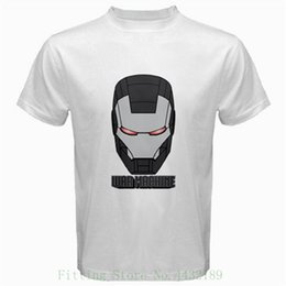 tee machine Australia - Ironman War Machine Comics Tshirt White Basic Tee T Shirt O neck Fashion Casual High Quality Print T Shirt