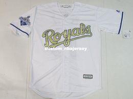 $enCountryForm.capitalKeyWord Australia - Cheap Custom Salvador Perez #13 Cool Base World jerseys Gold Program Stitched Retro Mens jerseys Customize any name number