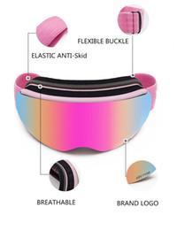 $enCountryForm.capitalKeyWord Australia - Ski Goggles Uv400 Protection Anti-fog Snowboard Ski Glasses For Men Women Snowboard Ski Glasses Snow Eyewear
