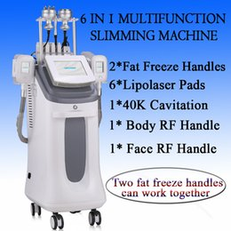 Cooling Cavitation slimming rf maChine online shopping - cool tech fat freezing machine ce approved ultrasonic cavitation equipment body slimming machine rf machine for sale