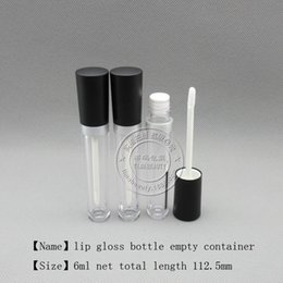 Gel Gloss Wholesalers Australia - free shipping 250pcs lot, TM-LG6627 AS material lip gloss makeup bottle lip care gel container empty cosmetic package