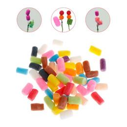 $enCountryForm.capitalKeyWord NZ - 50 Pcs Bag Fishing Nuggets Water Soluble PVA Foam Pop Up Carp Rig Tackle Accessories Tool Random Color #547949