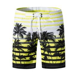 $enCountryForm.capitalKeyWord UK - Men Casual Print Mid Waist Shorts Quick-drying Swim Trunks Summer Beachwear Thin Knee Length