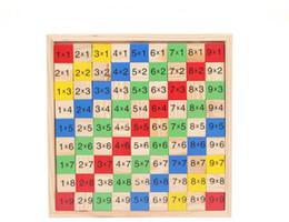 Çift taraflı hesaplama masa renk orijinal ahşap tahta çocuk bulmaca aydınlanma 4-6 yaşındaki okul indirimde