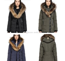 women big hoods down coats Australia - E04 Womens Parka Coats Outerwear Big Fur Manteaux D hiver Des Femme Designer Jacket Winter Fur Hood Coats Luxury Women Canada Down Jacket
