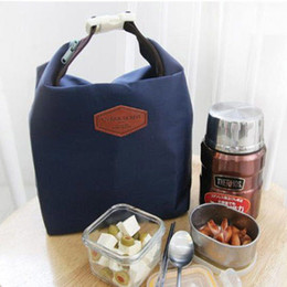 Simple Products NZ - Hot Sale Lunch Bags Handbag Tote Portable Insulated Pouch Cooler Waterproof Food Storage Bag Student School Food Storage Bags
