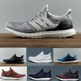 779b7fd8d Ultra Boost 3.0 4.0 Triple Black and White Primeknit Oreo CNY Blue grey Men  Women Running Shoes Ultra Boosts ultraboost sport Sneakers