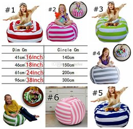 $enCountryForm.capitalKeyWord UK - INS Retail 16 18 24 38inch Storage Stuffed Animal Storage Bean Bag Chair Portable Kids Toy Storage Bag Play Mat Clothes Home Organizer