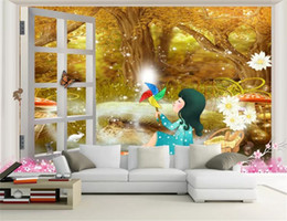 $enCountryForm.capitalKeyWord Australia - 3d Wallpaper Wall Promotion Scenery Fantasy Forest Children's Room Beautiful Cartoon HD Wall paper