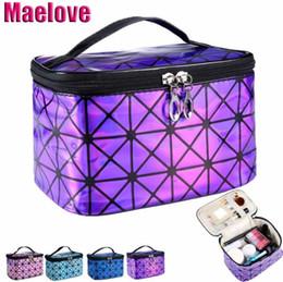 Großhandel Geometrie Lattic Handtasche Laser der Hologrammbeutelfrauen silberne Make-uptasche Freies Verschiffen Luxushandtaschenfrauen sackt Entwerfer # 92985 ein
