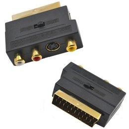 $enCountryForm.capitalKeyWord Australia - RGB SCART Male to 3 RCA Female AV Audio Video M-F Adapter Converter for TV VCR