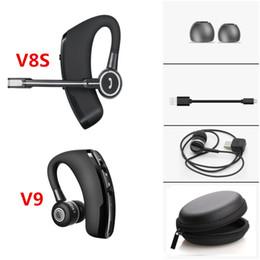 Ingrosso Afans i7S i9S i11 TWS auricolari stereo senza fili Bluetooth auricolare per IOS telefono Android con scatola di ricarica V8S V9 Business guida cuffie