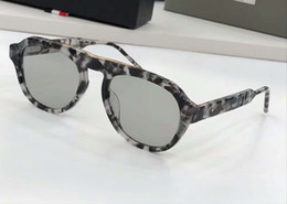 085b183b036c Grey Tortoise Pilot Sunglasses tbs416 Silver Lens Sun Glasses Men Designer  sunglasses Shades New With Box
