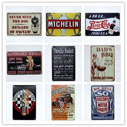 $enCountryForm.capitalKeyWord NZ - Michelin Spark Plugs Family Rules Dad's BBQ Shop Service Metal Tin Signs Bar Home Gas Station Pub Bakery Cafe Hotel Decor Wall Art Poster