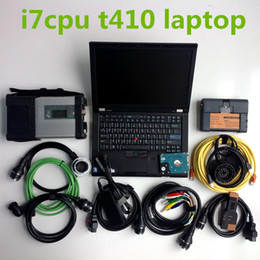Used laptops wifi online shopping - 2019 newest TB HDD MB Star C5 ICOM A2 Soft ware in installed well t410 Laptop ready use