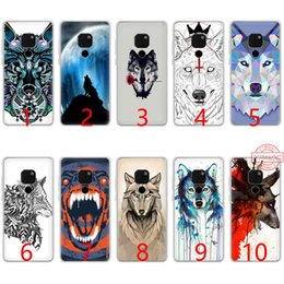 Snow White Phone NZ - The Snow Wolf Soft Silicone TPU Phone Case for Huawei Mate 20 10 Pro Nova 2i 3 3i 4 Lite